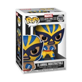 Figurine Funko Pop - El Animal Indestructible - Marvel/Lucha Libre N°711