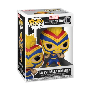 Figurine Funko Pop - La Estrella Cosmica - Marvel/Lucha Libre N°710