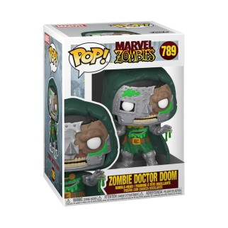 Figurine Funko Pop - Zombie Dr Doom - Marvel N°789