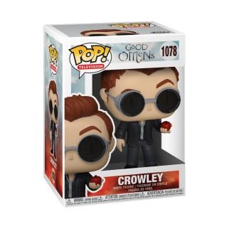 Figurine Funko Pop - Crowley avec une pomme - Good Omens N°1078