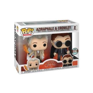 Figurine Funko Pop TV - Crowley et Aziraphale - Good Omens