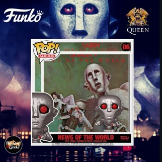 Figurine Funko Pop Album - News Of The World - Queen N°06