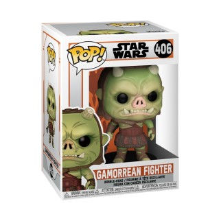 Figurine Funko Pop Guerrier Gamorrean - Star Wars - Mandalorian N°406