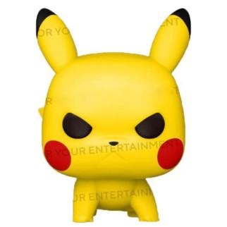 Figurine Funko Pop Pikachu Position d'Attaque - Pokemon