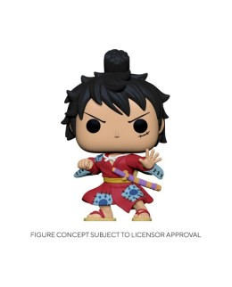 Figurine Funko Pop Luffy en Kimono - One Piece