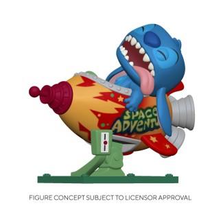 Figurine Funko Pop Rides Stitch dans la Rocket - Lilo & Stitch