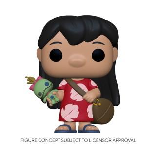 Figurine Funko Pop Lilo et poupée Scrump - Lilo & Stitch