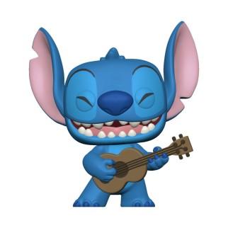 Figurine Funko Pop Stitch et un Ukelele - Lilo & Stitch