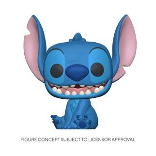 Figurine Funko Pop Stitch Qui Sourit - Lilo & Stitch