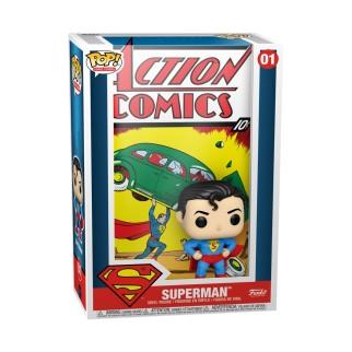 Figurine Funko Pop Comic Cover DC Superman N°01