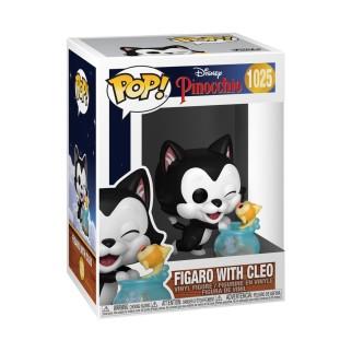 Figurine Funko Pop Figaro embrasse Cleo- Pinocchio N°1025
