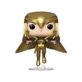 Figurine Funko Pop Wonder Woman Gold Flying Pose - Wonder Woman 1984 N°324