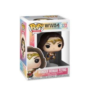 Figurine Funko Pop Wonder Woman qui vole - Wonder Woman 1984 N°322