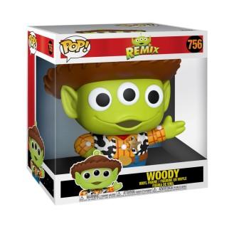 Figurine Funko Pop XXL Woody 25 cm- Pixar Alien Remix N°756