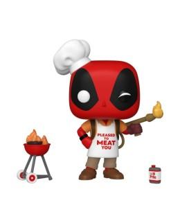 Figurine Funko Pop Deadpool Barbecue - 30 ans de Deadpool N°774