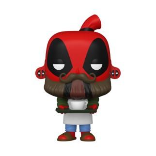 Figurine Funko Pop Deadpool Barista - 30 ans de Deadpool N°775
