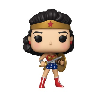 Figurine Funko Pop Wonder Woman Golden Age - 80ème anniversaire de Wonder Woman N°383