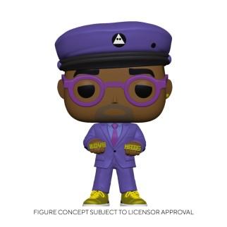 Figurine Funko Pop Spike Lee en costume violet