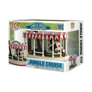 Figurine Funko Pop XL Mickey dans le Jungle Cruise N°103