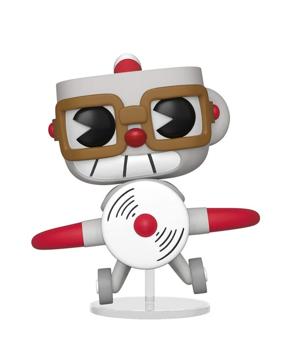 Figurine Funko Pop Cuphead en avion - Cuphead N°415