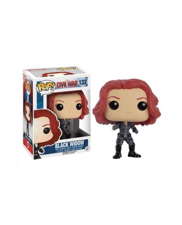 Figurine Funko Pop Black Widow - Captain America Civil War N°132