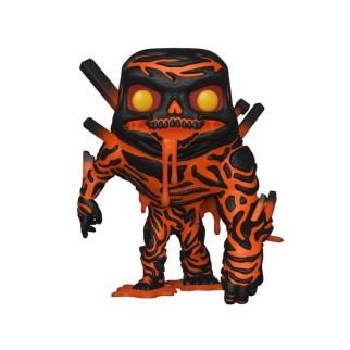 Figurine Funko Pop Molten Man - Spider-Man N°474