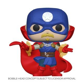 Figurine Funko Pop Soldat suprême - Infinity Warps Marvel