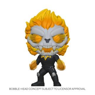 Figurine Funko Pop Ghost Panther - Infinity Warps Marvel