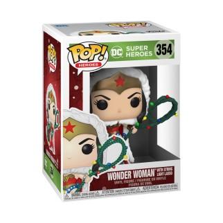 Figurine Funko Pop Wonder Woman - DC Spécial Noël N°354