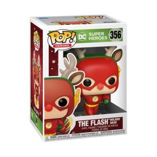 Figurine Funko Pop Flash - DC Spécial Noël N°356