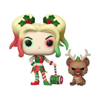 Figurine Funko Pop Harley Quinn - DC Spécial Noël N°357