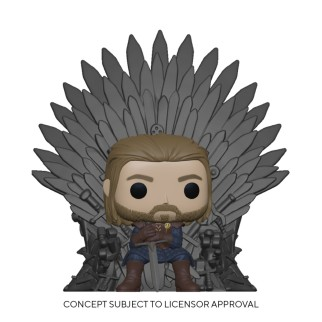 Figurine Funko Pop Ned Stark sur le trône - Games Of Thrones