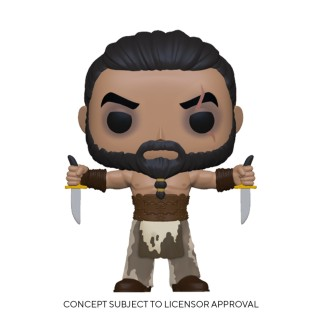 Figurine Funko Pop Khal Drogo avec des dagues - Games Of Thrones