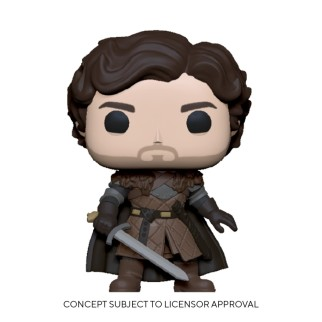 Figurine Funko Pop Robb Stark avec une épée - Games Of Thrones