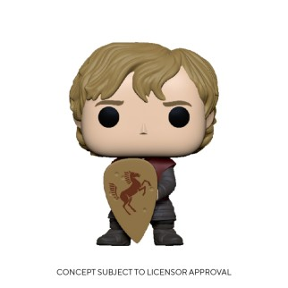 Figurine Funko Pop Tyrion et un bouclier - Games Of Thrones