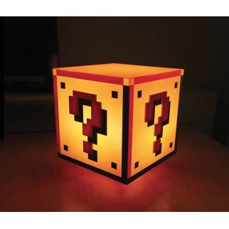 Lampe Super Mario Bloc Question