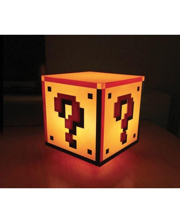 Lampe Super Mario Bloc Question