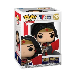 Figurine Funko Pop Wonder Woman dans Superman : Red Son N°392