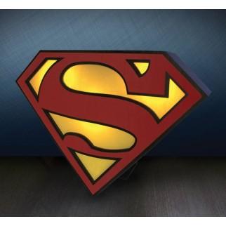 Lampe logo Superman