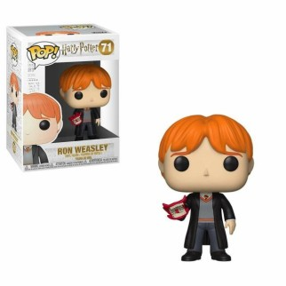 Figurine Funko Pop Ron Weasley et une Beuglante - Harry Potter N°71