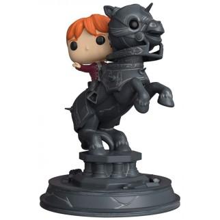 Figurine Funko Pop Ron sur pièce d'échec - Harry Potter N°82