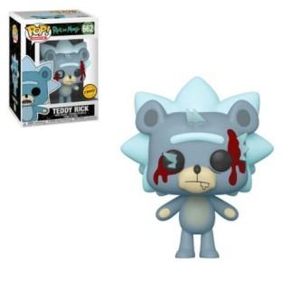 Figurine Funko Pop Teddy Rick - Rick et Morty N°662