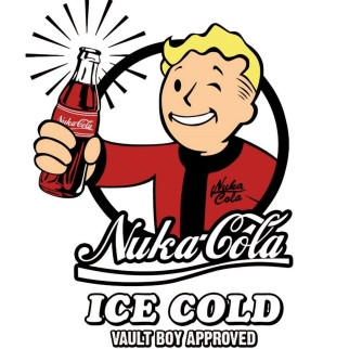 T-Shirt Nuka Cola + Pop Fallout T-60 Power Armor N°78 OFFERTE
