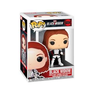 Figurine Funko Pop Black Widow en combinaison blanche N°604