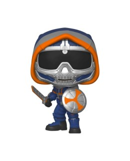 Figurine Funko Pop Taskmaster avec bouclier - Black Widow N°605