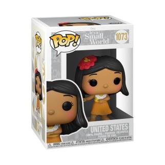 Figurine Funko Pop Etats-Unis - Disneyland - Le Monde est Petit N°1073