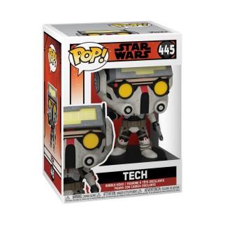 Figurine Funko Pop Tech - Star Wars : Bad Batch N°445