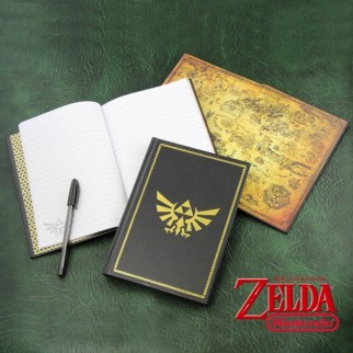 Carnet de notes Hyrule Zelda (notebook - bloc notes)