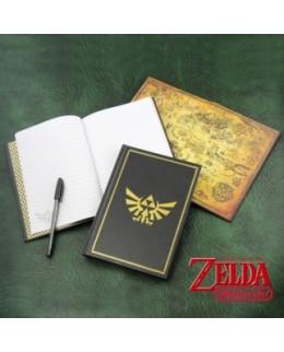 Carnet de notes Hyrule Zelda (notebook - bloc notes)