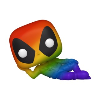 Figurine Funko Pop Deadpool Allongé - Marvel LGBTQ N°320